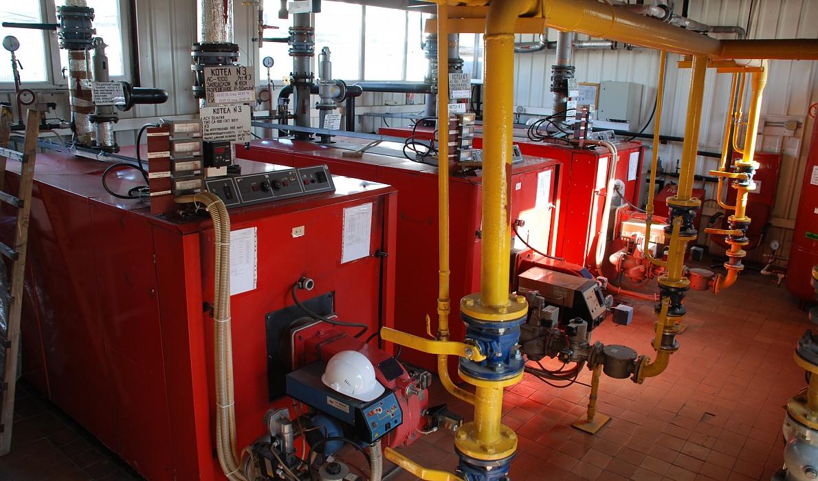 демонтаж газовой котельной